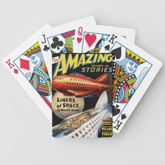 Space Liners Bicycle Playing Cards