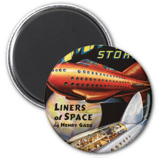 Space Liners Magnet
