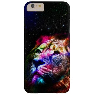 Space lion _caseSpace lion - colorful lion - lion Barely There iPhone 6 Plus Case