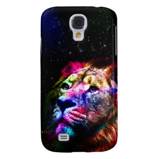 Space lion _caseSpace lion - colorful lion - lion Galaxy S4 Case