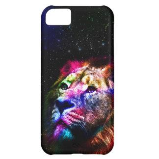 Space lion _caseSpace lion - colorful lion - lion iPhone 5C Case
