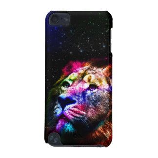 Space lion _caseSpace lion - colorful lion - lion iPod Touch 5G Case