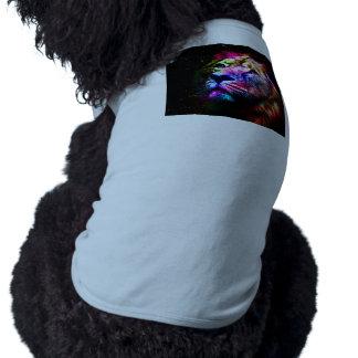 Space lion - colorful lion - lion art - big cats shirt