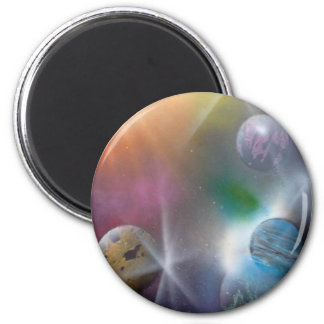 Space Refrigerator Magnets