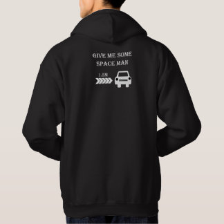 """Space man"" cycling hoodies for him"