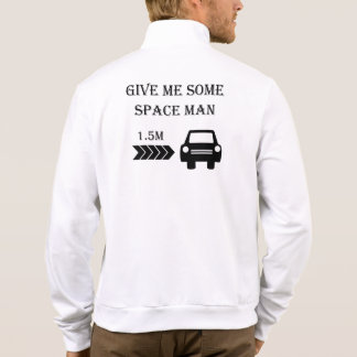 """Space man"" cycling jackets for men"