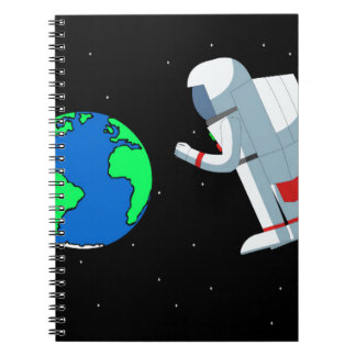 Space Man Notebooks