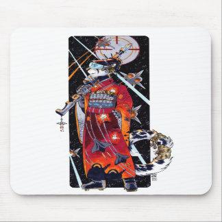 Space Marine Kimono Jaguar Mousepad