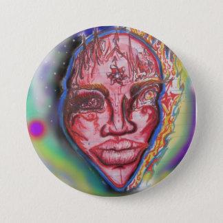 Space Mind 7.5 Cm Round Badge