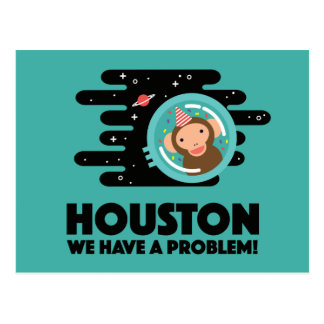 Space Monkey Postcard