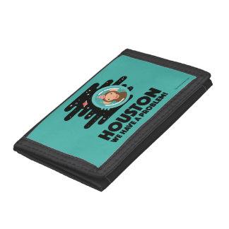 Space Monkey Trifold Wallet