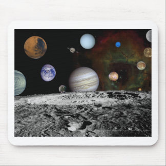 space montage mouse pad