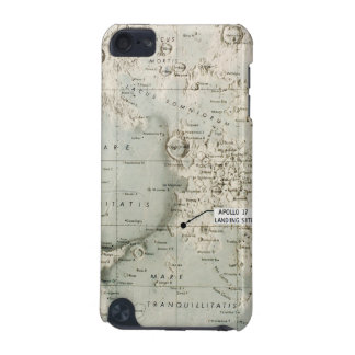 SPACE: MOON MAP, 1972 iPod TOUCH 5G CASE