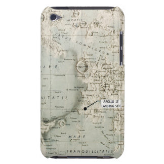 SPACE: MOON MAP, 1972 iPod TOUCH Case-Mate CASE