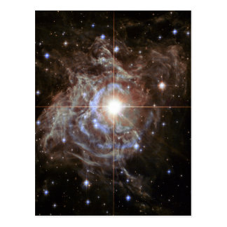 Space Nebula - Cepheid Variable Star RS Puppis Postcard