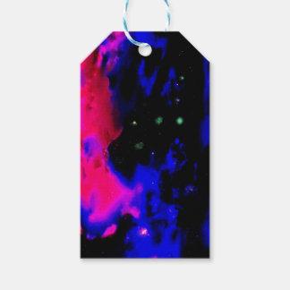 Space Nebula Gift Tags