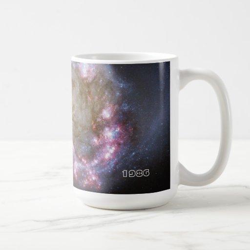 Space Nebula painting Mug