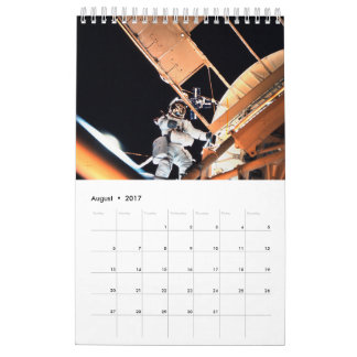 Space Odyssey Wall Calendar