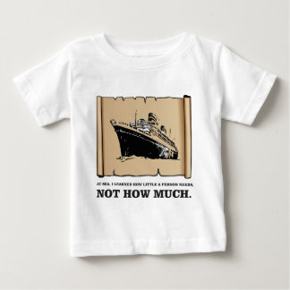 space on a boat yeah baby T-Shirt