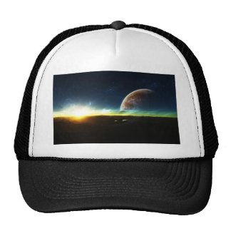 Space on the Horizon Mesh Hat