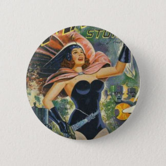 Space Opera 6 Cm Round Badge