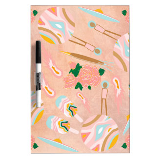 Space Opera: Ice-cream Planet Dry-Erase Whiteboards