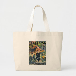 Space Opera Large Tote Bag