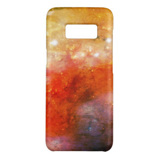 space orange galaxy clouds Case-Mate samsung galaxy s8 case