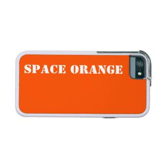 Space orange iPhone 5/5S case