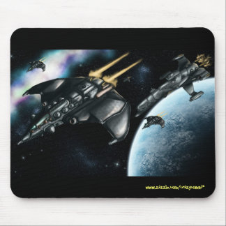Space patrol cool mousepad design