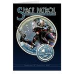 Space Patrol Greeting Card