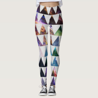 Space pattern leggings