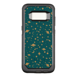 Space pattern OtterBox commuter samsung galaxy s8 case