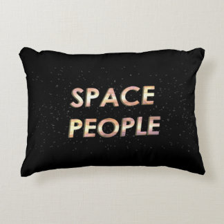 Space People - The Pillow! Decorative Cushion