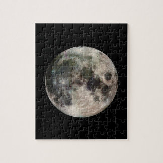 Space Photo of the Moon Jigsaw Puzzle