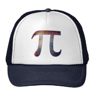 Space pi happy pi day galaxy math geek gift mesh hats