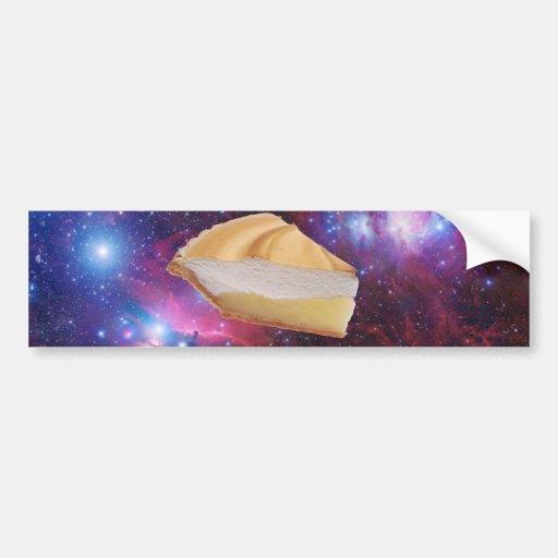 Space Pie Bumper Stickers