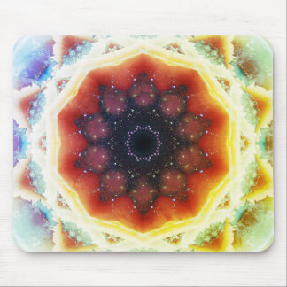 Space Portal Mandala Mouse Pad