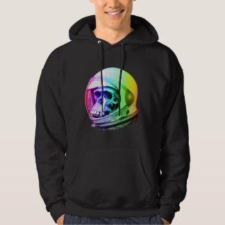 Space Primate Astronaut Skull Hoodie