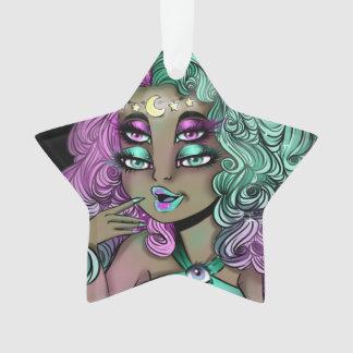 Space princess ornament