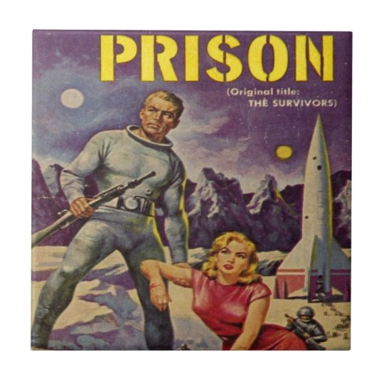 Space Prison Ceramic Tile