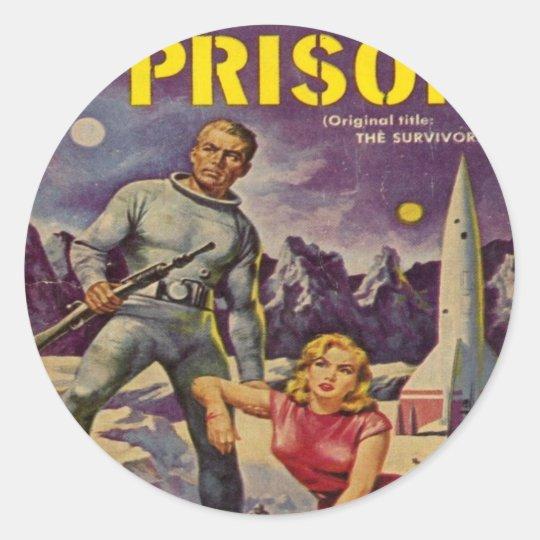 Space Prison Classic Round Sticker
