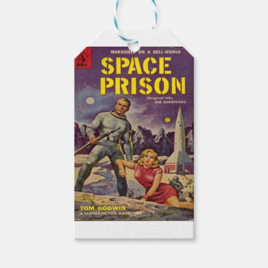 Space Prison Gift Tags