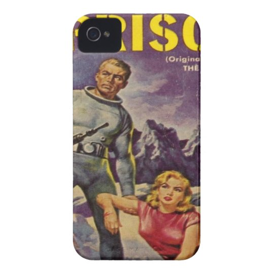 Space Prison iPhone 4 Cover