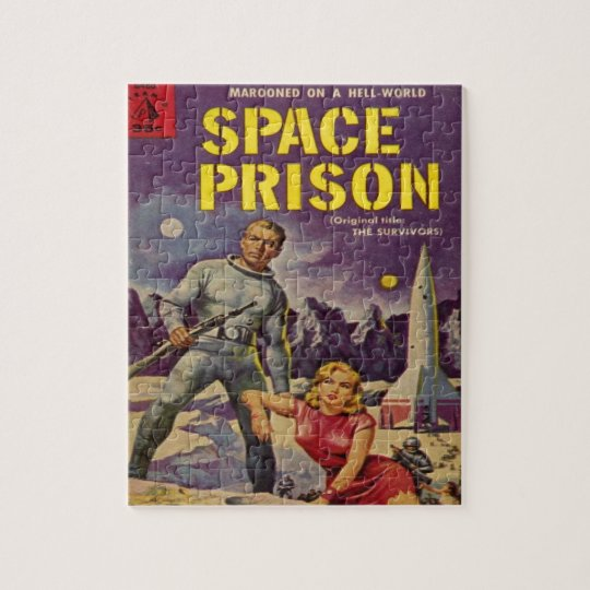 Space Prison Jigsaw Puzzle