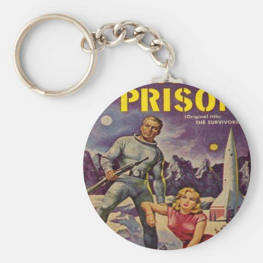 Space Prison Key Ring
