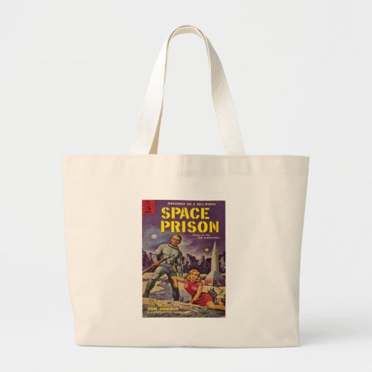 Space Prison Large Tote Bag