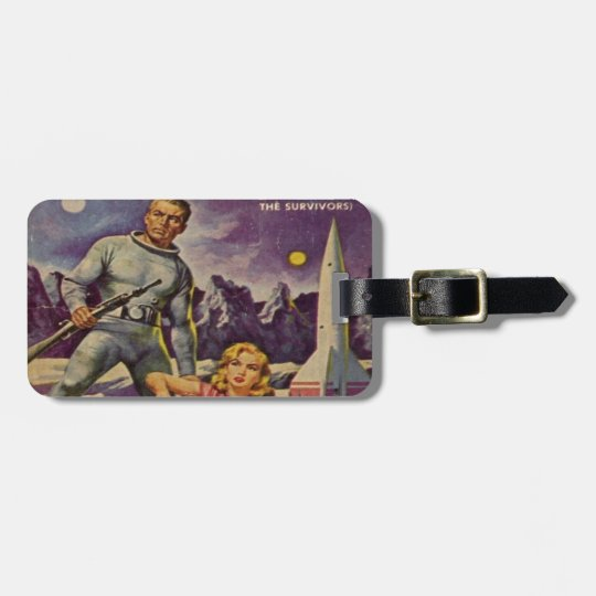 Space Prison Luggage Tag