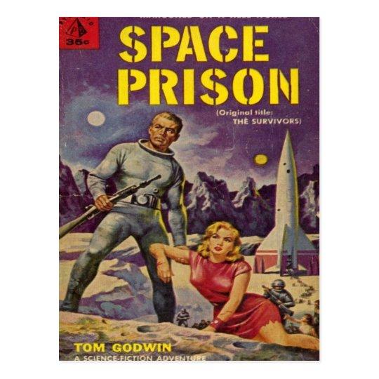 Space Prison Postcard