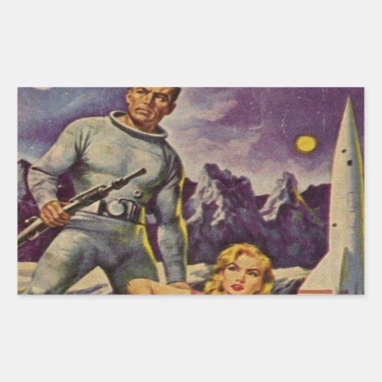 Space Prison Rectangular Sticker